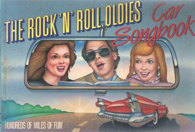 DELFINER, GARY (COMPILER) - The rock 'n ' roll oldies. Car songbook.