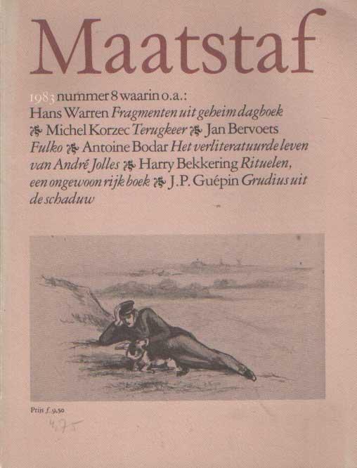 KOCH, KOEN , GERRIT KOMRIJ E.A. - Maatstaf 1983, no. 8.