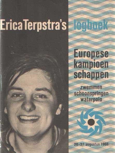 - Erica Terpstra's logboek Europese kampioenschappen zwemmen, schoonspringen, waterpolo 20-27 augustus 1966.