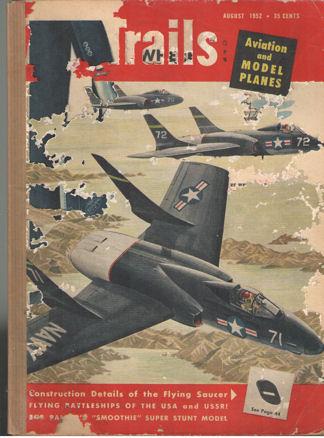 LEWIS, ALBERT L. - Air Trails. August 1952. Vol. 38, no. 5.