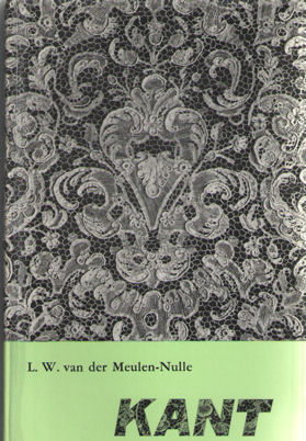MEULEN-NULLE, L.W. VAN DER - Kant met naald en klos en speldenbos.