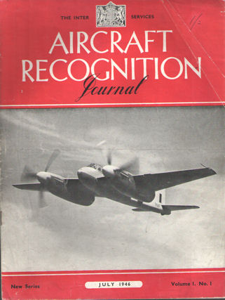 EDITORIAL COMMITTEE - Aircraft Recognation Journal. The Inter-Services (new series). Volume I, nrs. 1, 4, 6, 8, 9, 10, 11 and 12.