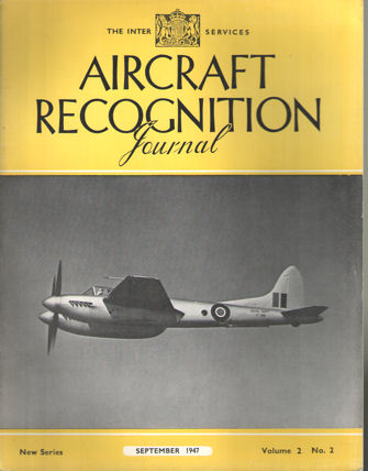 EDITORIAL COMMITTEE - Aircraft Recognation Journal. The Inter-Services (new series). Volume II, 12 numbers (complete).