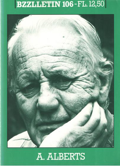 DIEPSTRATEN, JOHAN EN PHIL MUYSSON - Bzzlletin nr. 106. A. Alberts nummer.