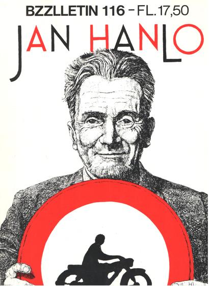 DIEPSTRATEN, JOHAN EN PHIL MUYSSON - Bzzlletin nr. 116. Jan Hanlo nummer.