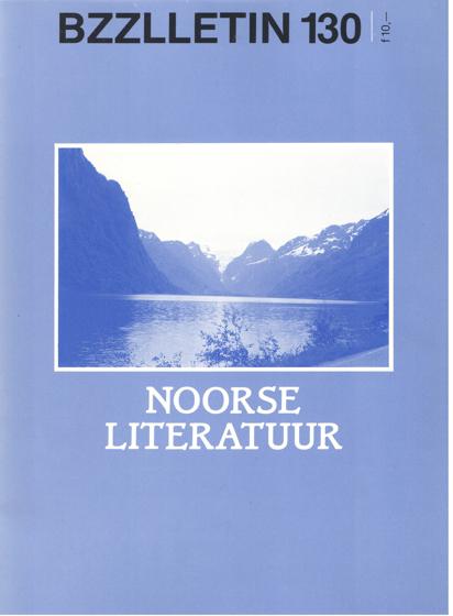 CARTENS, DAAN , JOHAN DIEPSTRATEN EN PHIL MUYSSON - Bzzlletin nr. 130. Noorse literatuur.
