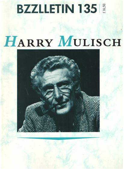 CARTENS, DAAN , JOHAN DIEPSTRATEN EN PHIL MUYSSON - Bzzlletin nr. 135. Harry Mulisch nummer.