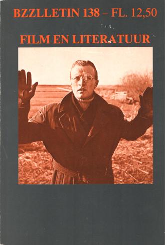 CARTENS, DAAN , JOHAN DIEPSTRATEN EN PHIL MUYSSON - Bzzlletin nr. 138. Film en literatuur.