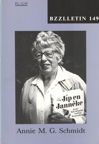CARTENS, DAAN , JOHAN DIEPSTRATEN EN PHIL MUYSSON - Bzzlletin nr. 149. Annie M.G. Schmidt nummer.