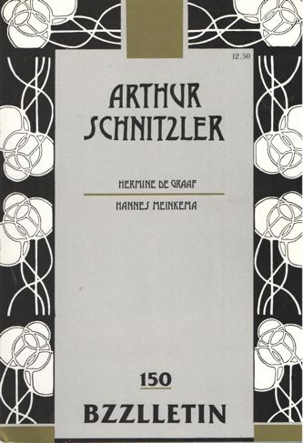 CARTENS, JOHAN DIEPSTRATEN EN PHIL MUYSSON, DAAN - Bzzlletin nr. 150. Arthur Schnitzler nummer.