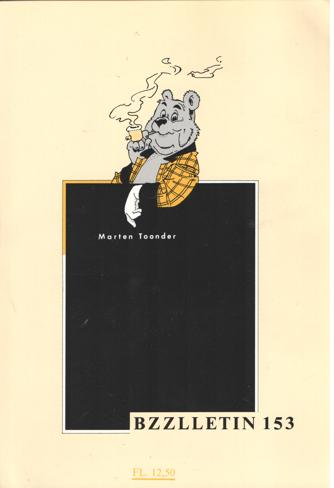 CARTENS, DAAN , JOHAN DIEPSTRATEN EN PHIL MUYSSON - Bzzlletin nr. 153. Marten Toonder nummer.