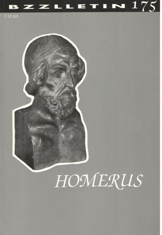 CARTENS, DAAN , KOOS HAGERAATS EN PHIL MUYSSON (REDACTIE) - Bzzlletin nr. 175. Homerus nummer.