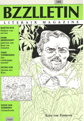 CARTENS, KOOS HAGERAATS EN PHIL MUYSSON (REDACTIE), DAAN - Bzzlletin nr. 185.