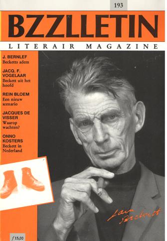 CARTENS, DAAN , KOOS HAGERAATS EN PHIL MUYSSON (REDACTIE) - Bzzlletin nr. 193. Samuel Beckett nummer.