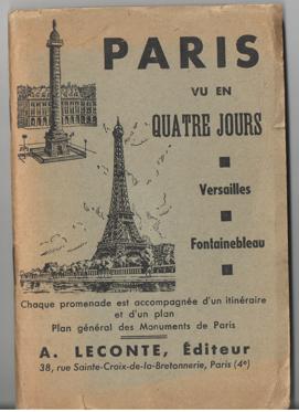 - Paris vu en quatre jours [...] Versailles. Fontaineblue.
