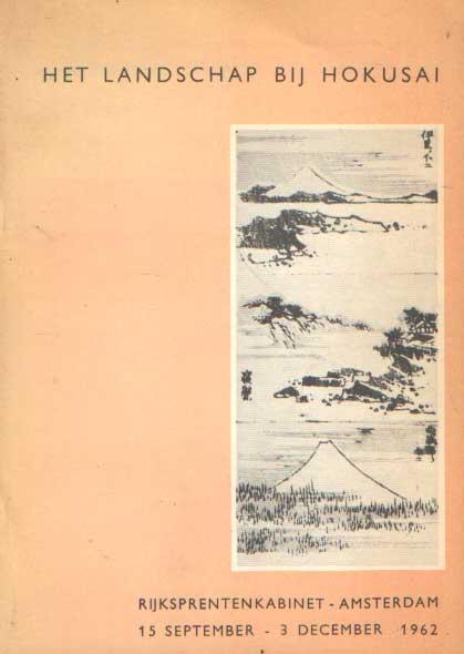 - Het landschap bij Hokusai.