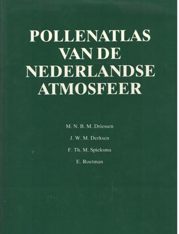DRIESSEN, M.N.B.M. E.A. - Pollenatlas van de Nederlandse atmosfeer.