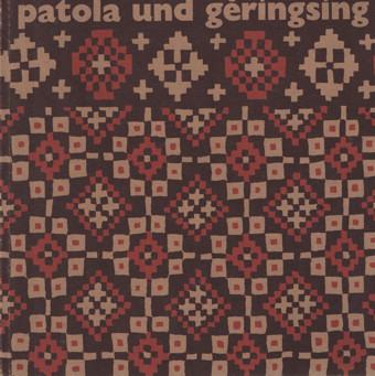 BÜHLER U.A., ALFRED - Patola und geringsing. Zeremonialtücher aus Indien und Indonesien.
