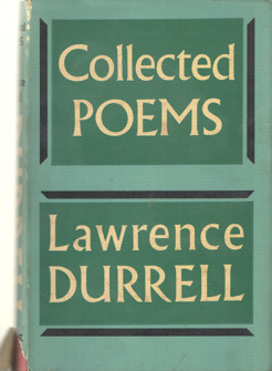 DURRELL, LAWRENCE - Collected Poems.
