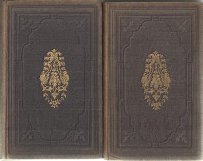 LASTDRAGER, A.J. - Tafereelen en karakterschetsen uit Vaderlandsche Geschiedschrijvers, sedert het begin der XVIe eeuw. Voor Nederlandsche jongelingen. Ie deel (1521-1648) IIe deel (1650-1848).