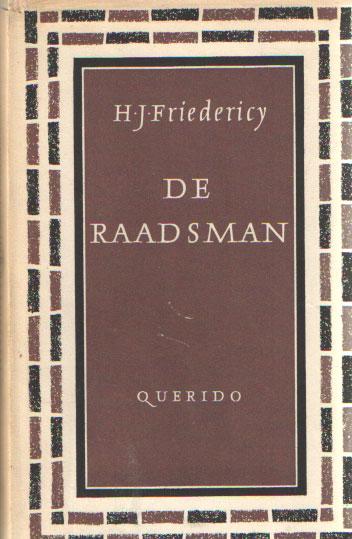 FRIEDERICY, H.J. - De raadsman.