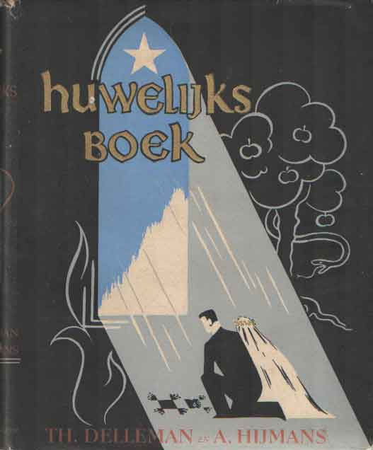 DELLEMAN, TH. & A. HIJMANS - Huwelijksboek.
