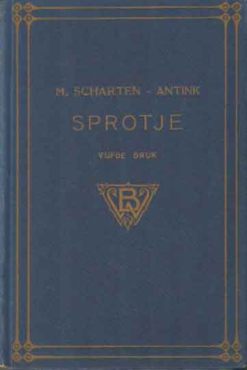 SCHARTEN-ANTINK, M. - Sprotje.