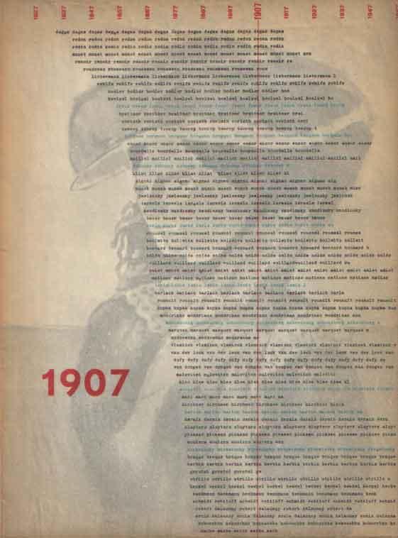 - Europa 1907. België, Duisland, Engeland, Frankrijk, Nederland, Noorwegen, Oostenrijk, Rusland, Spanje, Tsjechoslowakije, Zwitserland. Stedelijk Museum Amsterdam 1957. Catalogus SM 176.