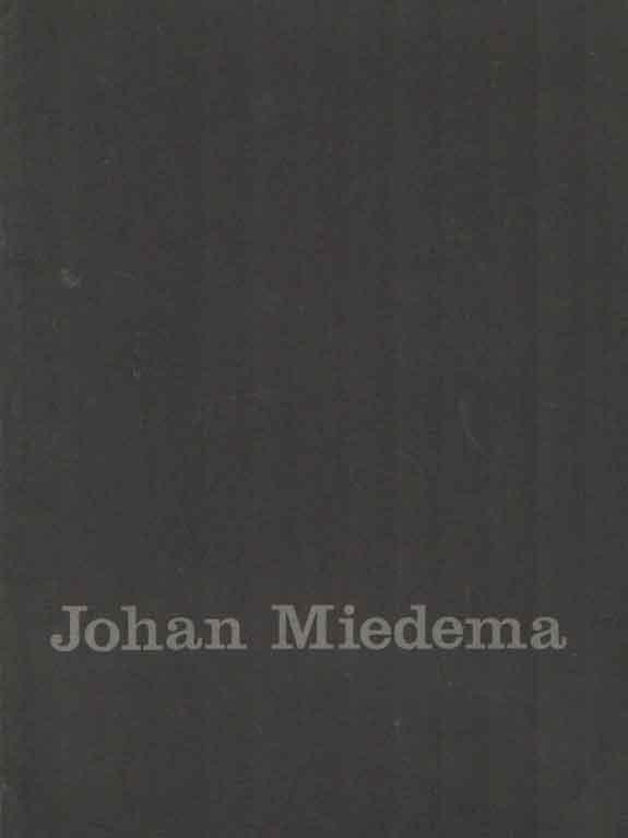 STRAATEN, EVERT VAN - Johan Miedema 1870-1952.