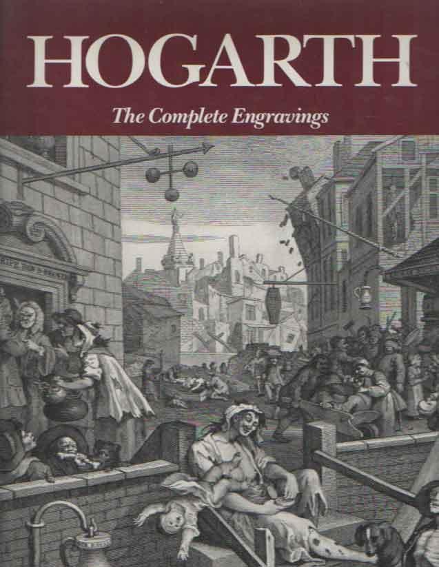 BURKE, JOSEPH & COLIN CALDWELL - Hogarth. The complete engravings.