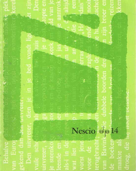 DUBOIS, PIERRE H. E.A. - Nescio. Schrijversprentenboek 14.