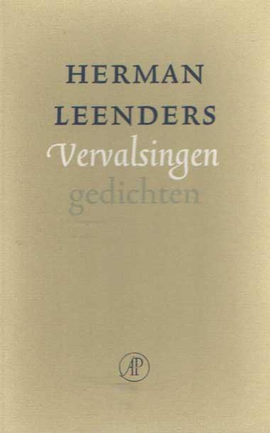 LEENDERS, HERMAN - Vervalsingen. Gedichten.