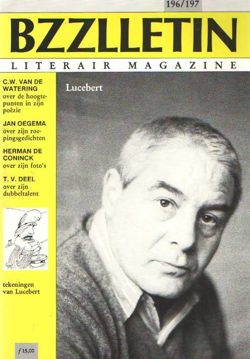 CARTENS, KOOS HAGERAATS EN PHIL MUYSSON (REDACTIE), DAAN - Bzzlletin nr. 196-197. Lucebert nummer.
