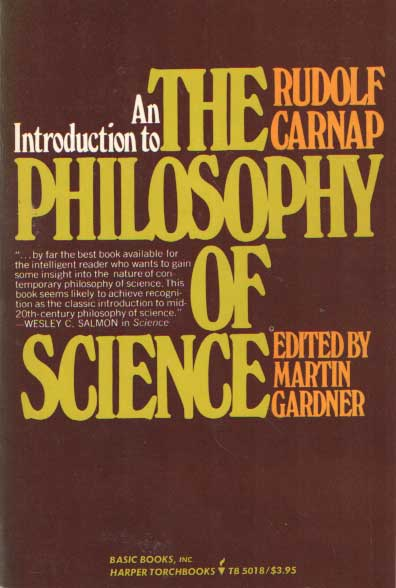 CARNAP, RUDOLF - An Introduction to the Philosophy of Science.