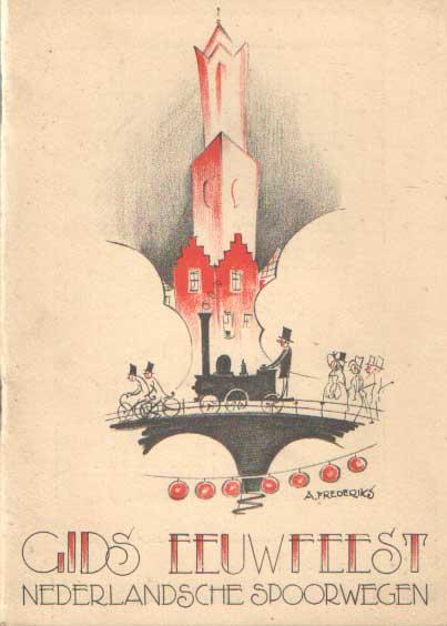 - Officieele gids der feestelijkheden ter gelegenheid van het honderd-jarig bestaan der spoorwegen in Nederland, te Utrecht van 25 september tot 23 october 1939..