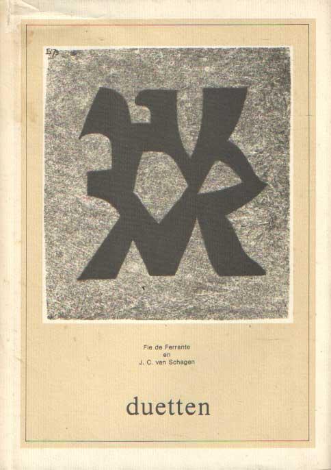 SCHAGEN, J.C. VAN & FIE DE FERRANTE - Duetten.
