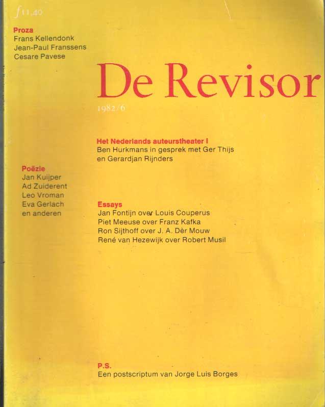 BUUREN, MAARTEN E.A. (RED.) - De Revisor. Tweemaandelijks tijdschrift. Negende jaargang, 1982/6.
