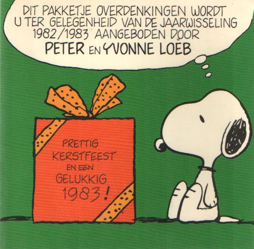 SCHULZ, CHARLES M. - Snoopy. Filosofieën. Kleine waarheden omtrent grote problemen.