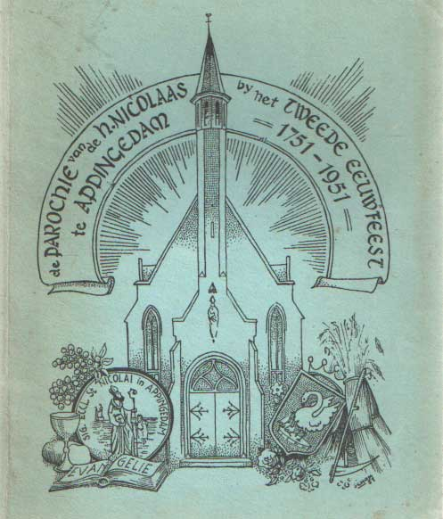- De parochie van de H. Nicolaas te Appingedam bij het tweede eeuwfeest 1751 - 1951.