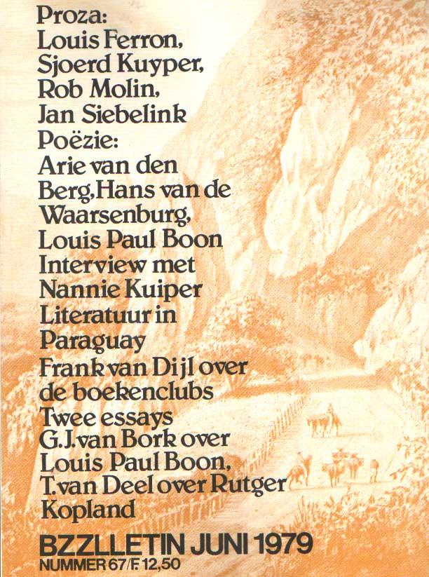 CAMPING, PHIL MUYSSON EN DOLF VERROEN, HENK - Bzzlletin nr. 67.