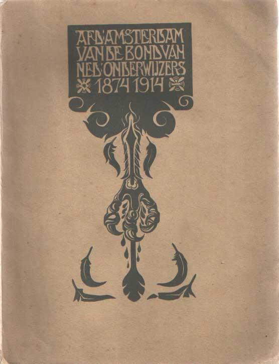 - Gedenkboek van de afdeling Amsterdam van de Bond van Nederlandsche Onderwijzers. Tot opwekking voor de strijd en ter herinnering aan de leden.