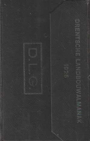 - Almanak voor den Drentschen Landbouwer van het jaar 1926.