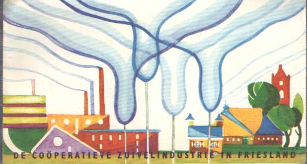 - De Coöperatieve zuivelindustrie in Friesland.