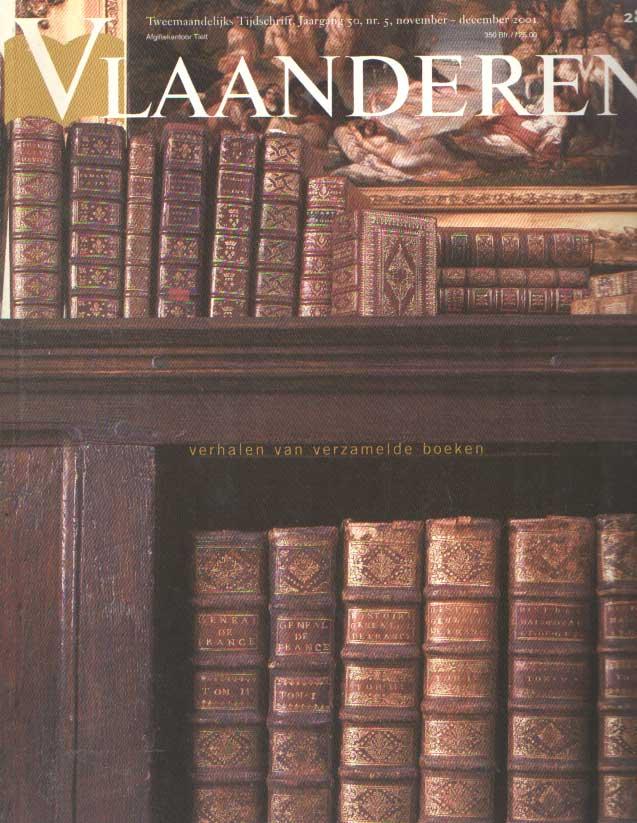LATEUR, PATRICK (RED.) - Vlaanderen.Tweemaandelijks tijdschrift voor kunst en cultuur. Jaargang 50, nr. 5, november - december 2001.