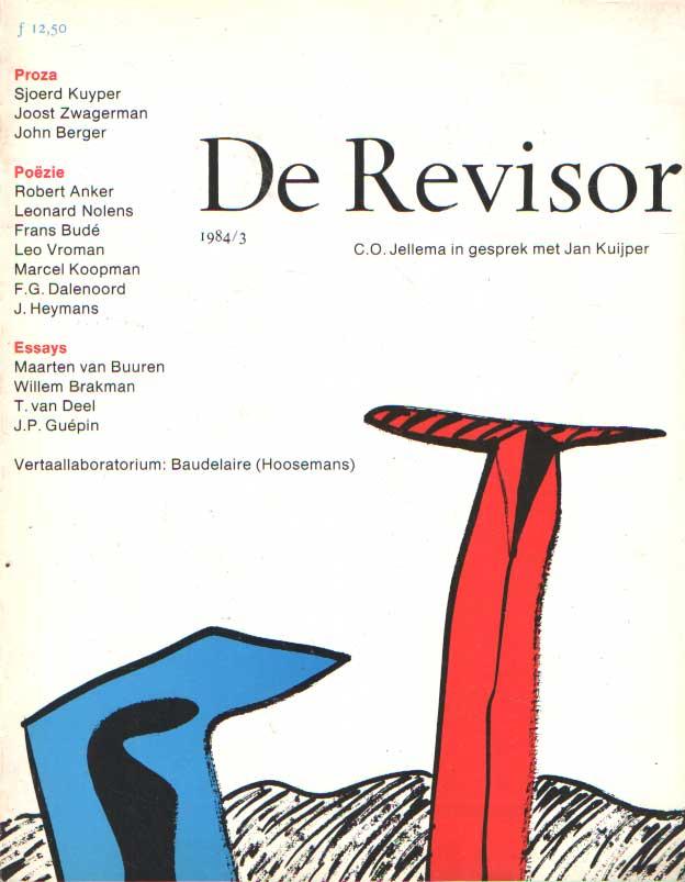 BUUREN, MAARTEN VAN E.A. (REDACTIE) - De revisor. 11de jaargang, no. 3. C.O. Jellema in gesprek met Jan Kuijper.