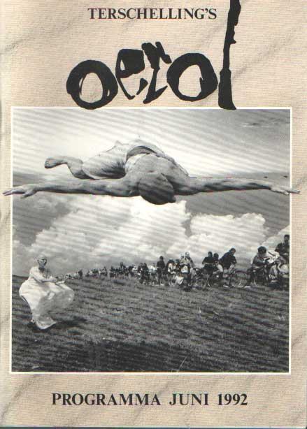 - Terschelling's Oerol. Programma juni 1992.