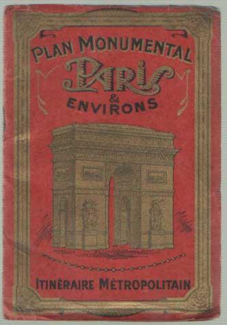 - Guide commode pour voir et vister les monuments de Paris. Texte en Français, en Anglais, en Allemand.