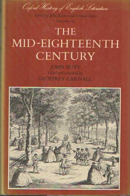 BUTT, JOHN - The Mid-Eighteenth Century.