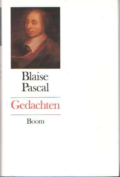 PASCAL, BLAISE - Gedachten. Vertaling en aantekeningen Frank de Graaff..