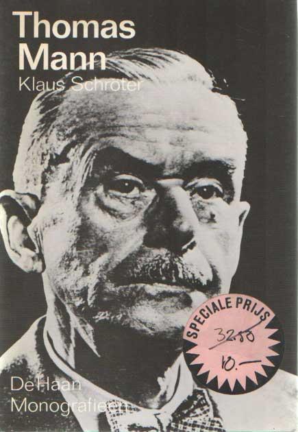 SCHRÖTER, KLAUS - Thomas mann.
